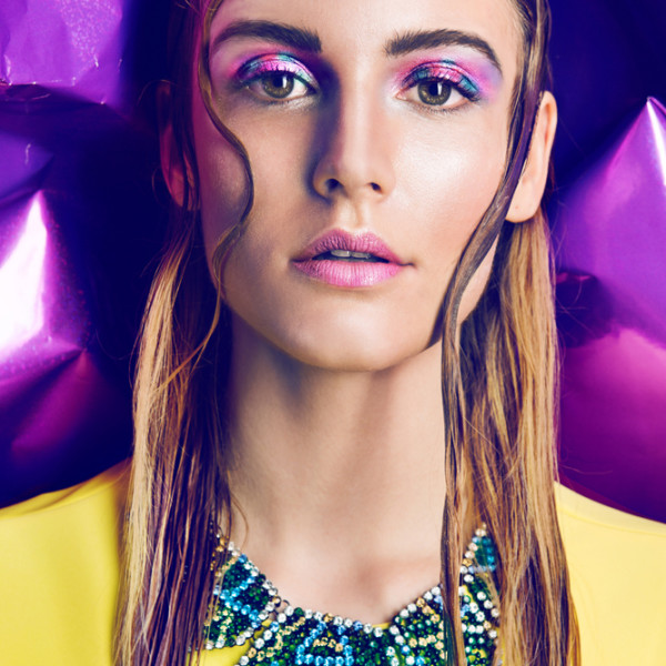 NEON MAKE-UP – trendhunter.com
